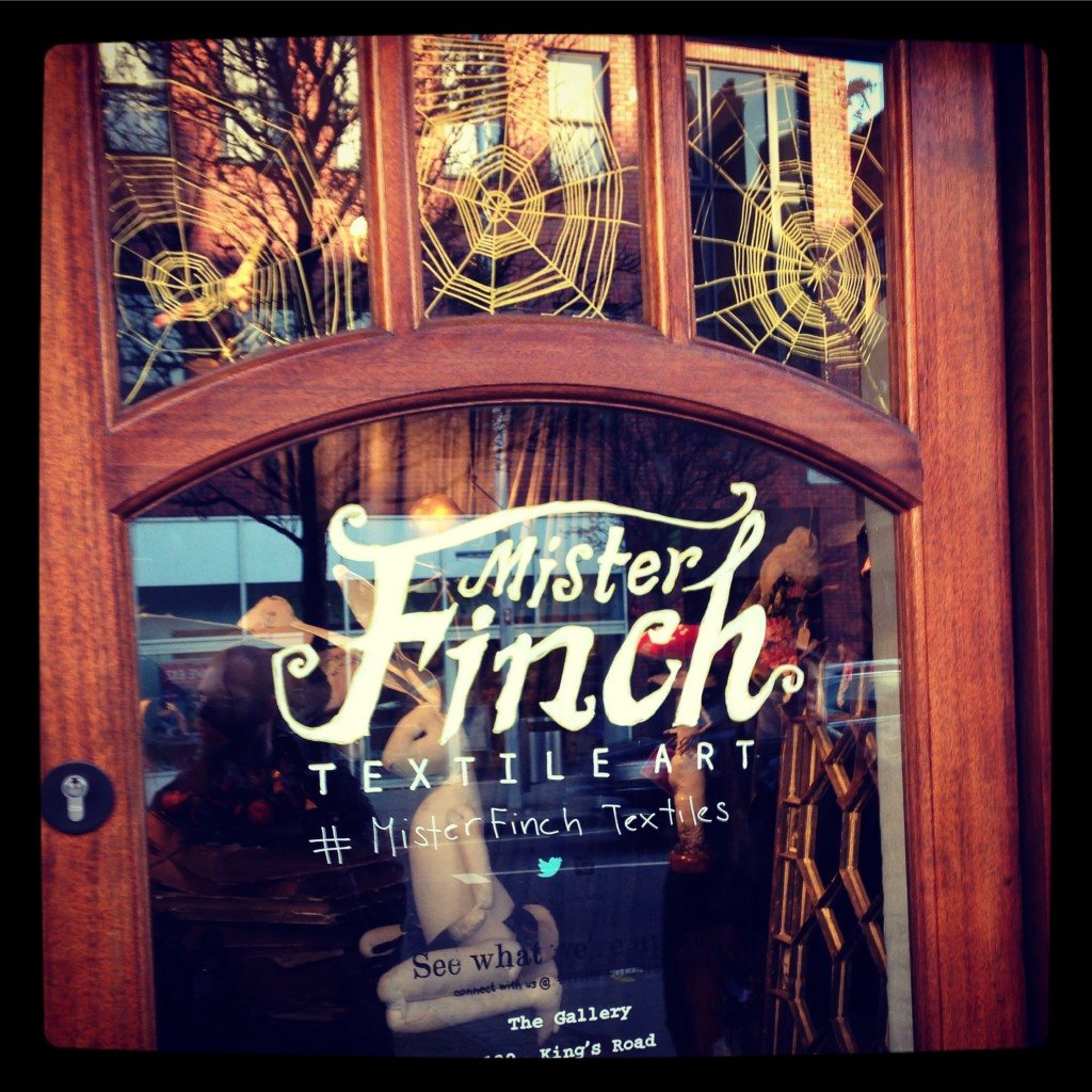 Mister Finch at Anthropologie