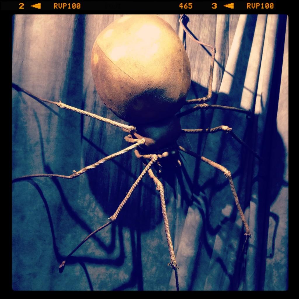 stuffed textile spider