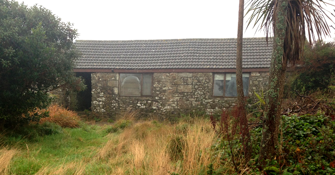 Renovation project on the old converted barn