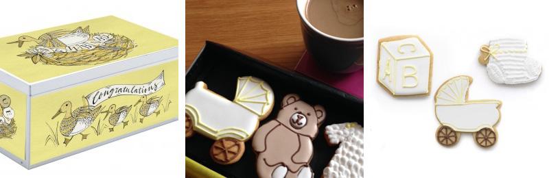Biscuiteers New Baby Biscuit Tin