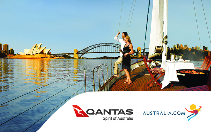 HTML5 banners for Qantas Airways